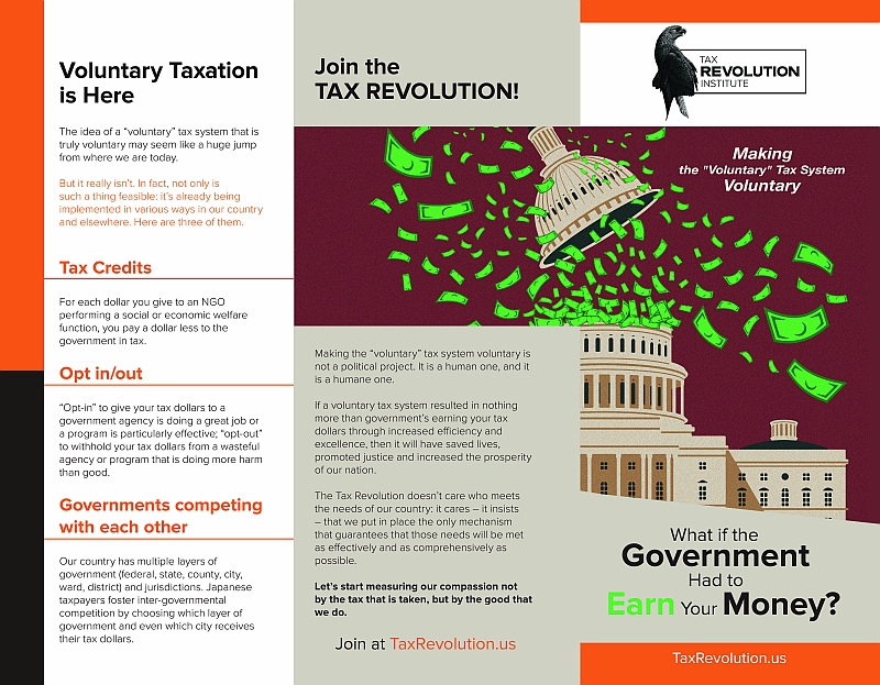 The Tax Revolution Trifold 1 of 2
