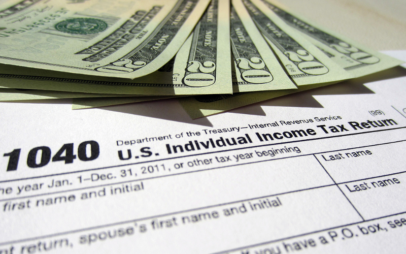 IRS tax refund. (Photo: 401(K) 2012)