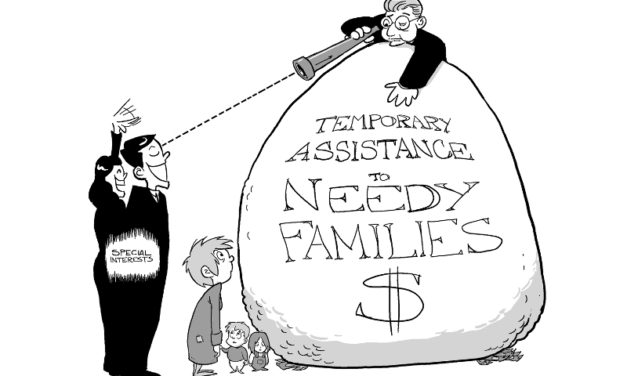 Your Welfare Dollars Feed State Budgets, Not Needy Families